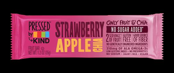 Strawberry Apple Chia Pressed